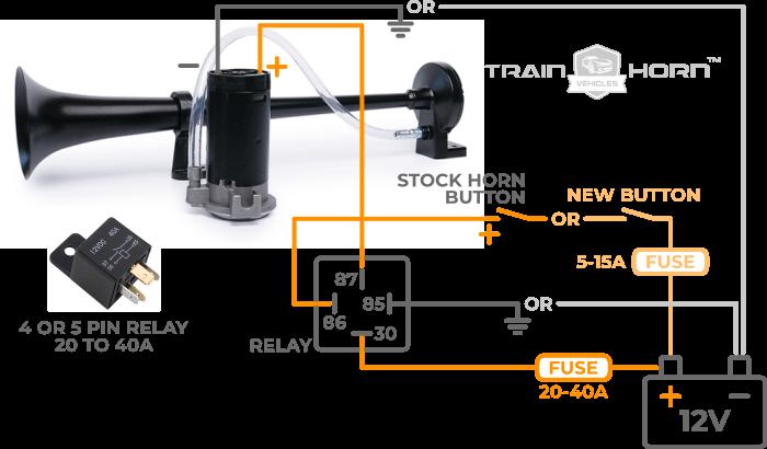 train horn wiring installation instructions  pietrodavico