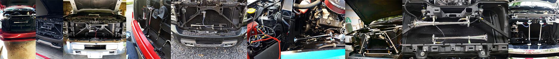 MotoHorn Vehicle Installations